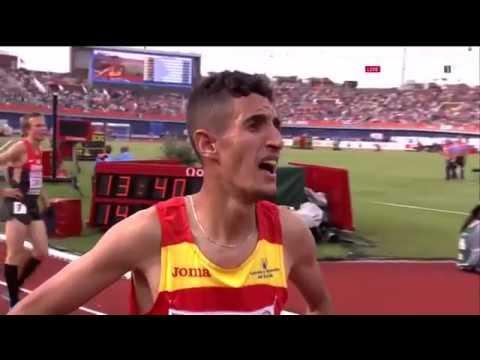 إلياس فيفا إبن مدينة طنجة هرب من المغرب مختبئاً في شاحنة فصار بطل أوروبا لمسافة 5000 متر