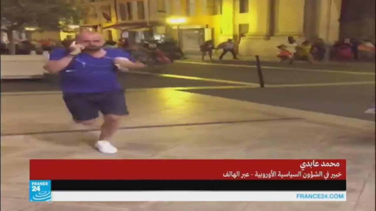 صور-فيديو شاحنة تدهس جمعا من الناس في نيس وتحصد عشرات القتلى
