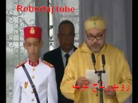 كلمة الملك محمد السادس في حفل أداء القسم ويطلق على الفوج اسم التعاون الخليجي !!