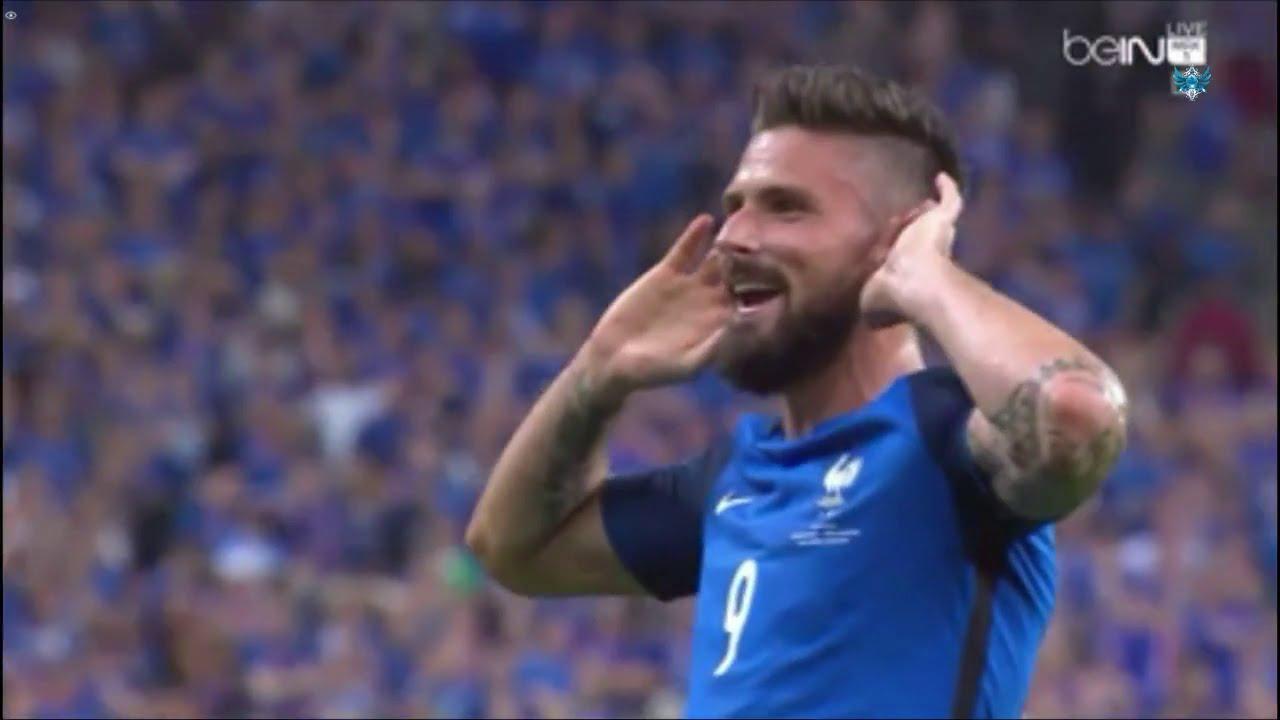 اهداف مباراة فرنسا و ايسلندا 5-2