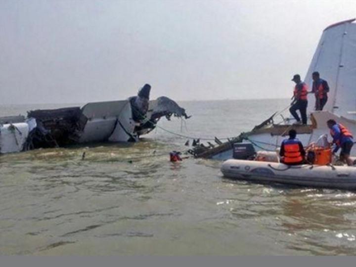 سفينة بحث تنتشل الرفات البشرية من موقع سقوط طائرة مصر للطيران