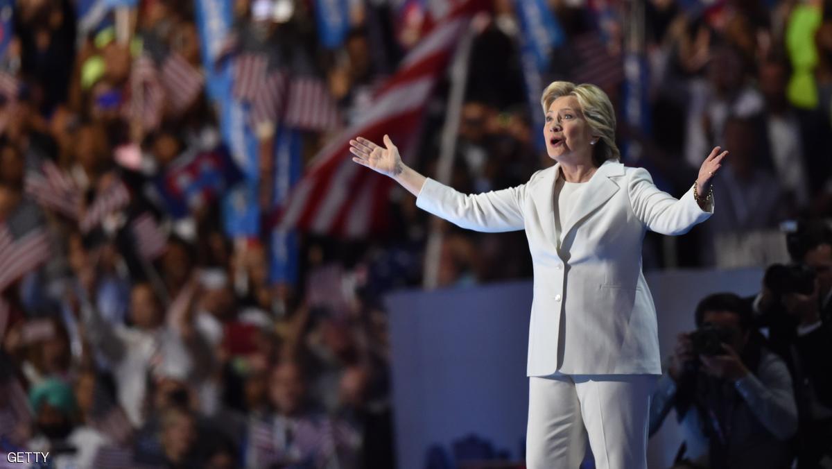هيلاري كلينتون تقبل ترشيح الحزب الديموقراطي لخوض انتخابات الرئاسة