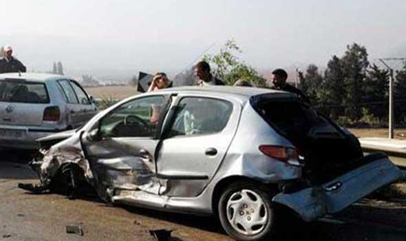 إصابة تسعة أشخاص   في حادثة سير على مشارف مدينة شفشاون