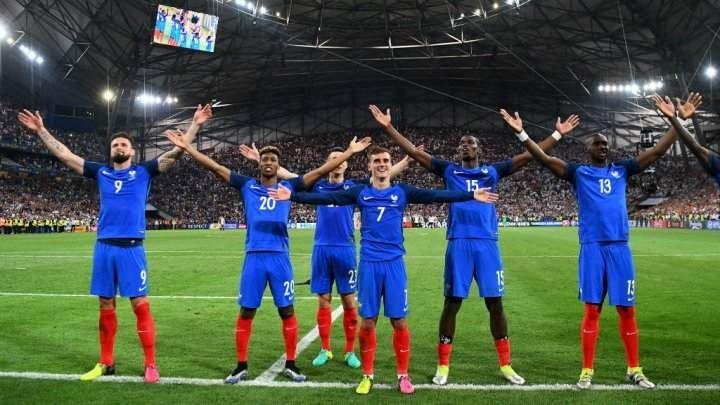 تشكيلة فرنسا والبرتغال