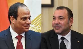 هذا ما قاله الملك محمد السادس لسيسي بمناسبة تخليد مصر لثورة يوليوز