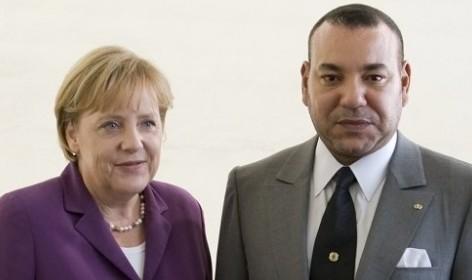 الملك محمد السادس يعزي ميركل والرئيس الألماني في ضحايا الاعتداء الارهابي