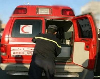 انقلاب سيارة للنقل المزدوج وسط طنجة…واصابة أزيد من 12شخص