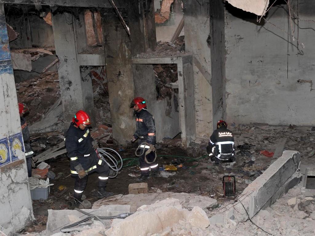 مصرع طفلين جراء انهيار أحد المنازل الآيلة للسقوط بمنطقة باب تاغزوت بمراكش