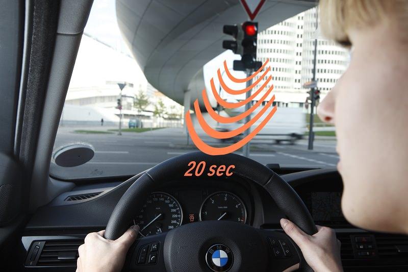 سيارات أودي تتحدث مع إشارات المرور في أمريكا لأول مرة في صناعة السيارات