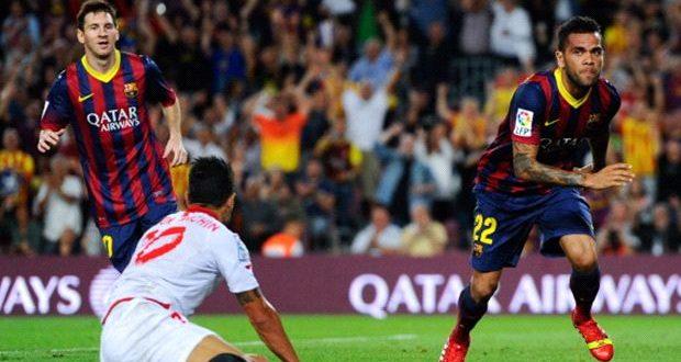 الكأس السوبر الاسبانية: اشبيلية يستضيف برشلونة ذهابا