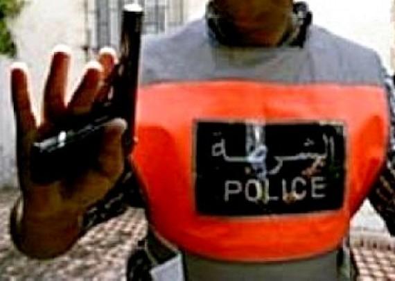 بوليسي بآسفي يضطر لاستخدام سلاحه الوظيفي لتوقيف شخص كان يحوز سكينا يهدد به حياة وأمن المواطنين