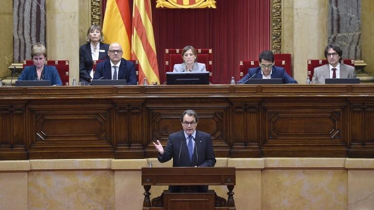 المحكمة الدستورية الإسبانية تلغي توصية البرلمان الكاتالوني إعلان بدأ مسلسل انفصال هذه الجهة