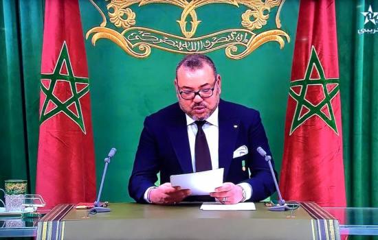 الملك يوجه خطابا ساميا الى الشعب المغربي ويترأس  حفل استقبال بمناسبة ذكرى ميلاده