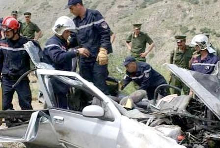 """""""إرهاب الطرقات"""" بالجزائر مستمر..مقتل ثمانية اطفال في حادث سير"""