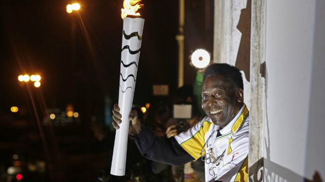 ريو 2016: بيليه لن يوقد الشعلة الاولمبية