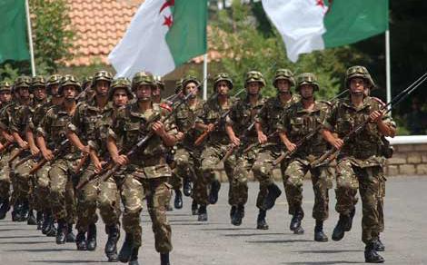جنرالات الجزائر يقمعون متقاعدي الجيش ويهددوهم بتنزيل الرتب