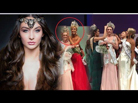 شاهد.. ملكة جمال أمريكا 2016 تتعرض لموقف محرج للغاية !!