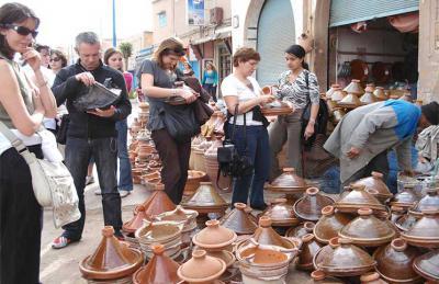 ارتفاع عدد السياح الوافدين على المغرب