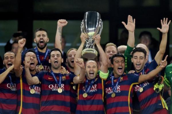 الكأس السوبر الاسبانية: برشلونة لتكرار الفوز على اشبيلية برغم الغيابات