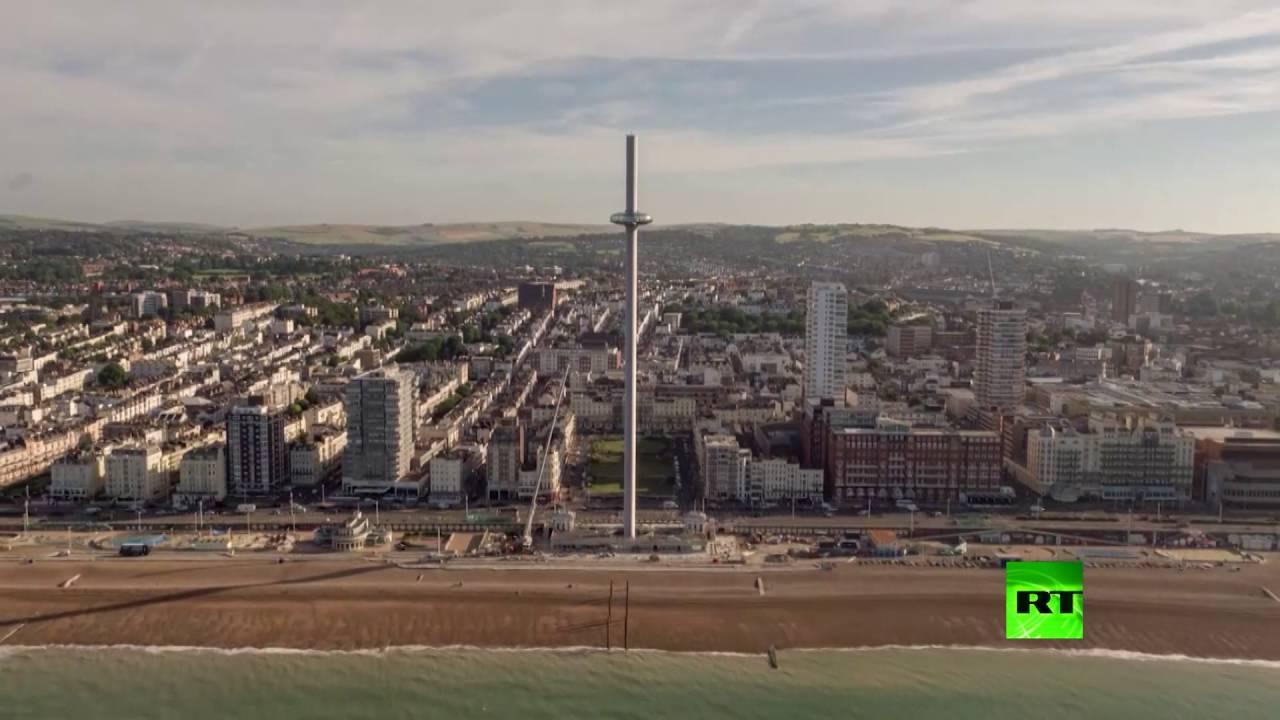 افتتاح أدق برج مشاهدة في العالم