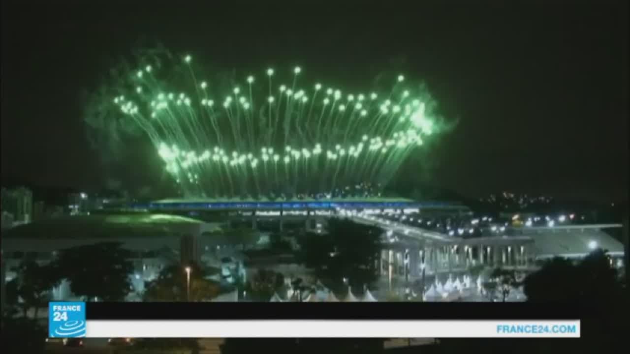 افتتاح الألعاب الأولمبية على وقع موسيقى السمبا