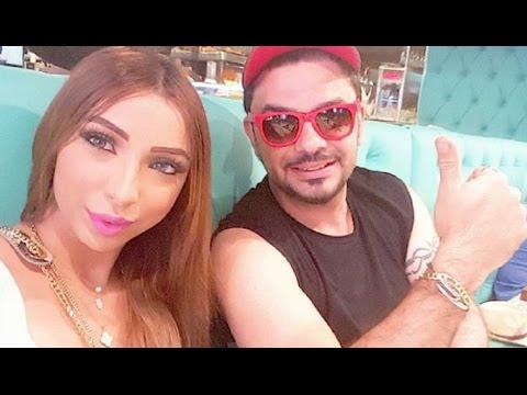 دنيا بطمة تتبرأ مما ينشر على حساب زوجها وابنته حلا الترك !!
