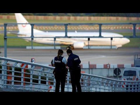 انذار كاذب بوجود قنابل على طائرتين متجهتين إلى مطار بروكسل