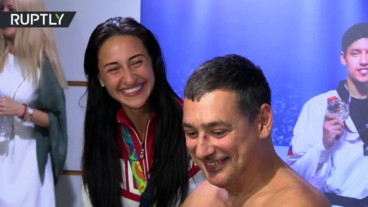 الروس حلقوا رأس مدربهم في أولمبياد ريو!
