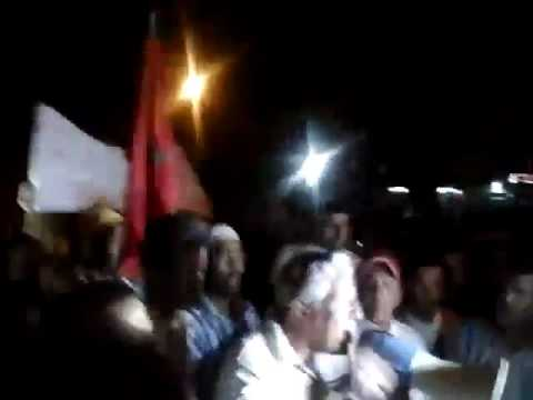 آلاف المواطنين بجهة درعة تافيلات يطالبون برحيل الشوباني