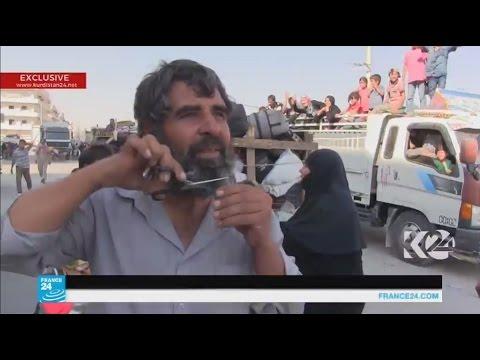 سوريا: رجال يحلقون الذقون ونساء يخلعن النقاب بعد فرار الجهاديين