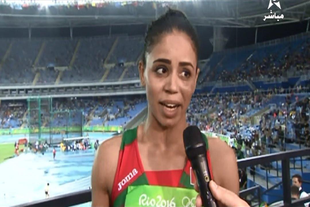 تصريح مثير للعداءة المغربية حياة المباركي بعد إقصائها في أولمبياد ريو