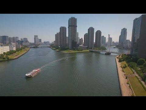 طوكيو: مدينة المياه