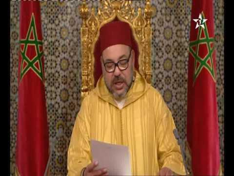 استمع للخطاب الملكي السامي بمناسبة الذكرى 63 لثورة الملك والشعب
