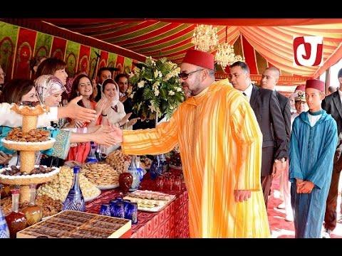 التسجيل الكامل لحفل الاستقبال والتوشيحات بالأوسمة الملكية بمناسبة ذكرى ميلاد الملك محمد السادس
