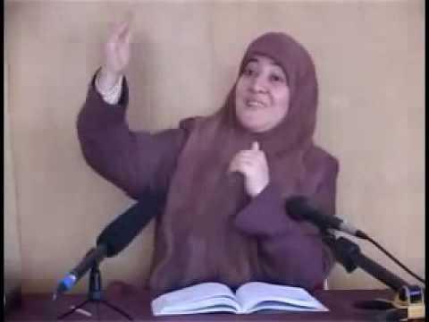 الاخت العفيفة فاطمة النجار التي ضبطت تمارس الزنا رفقة زميلها في الحركة الاسلامية و هي تتكلم عن التحرش الجنسي والزنا
