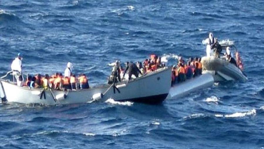 مروحيات ودوريات للدرك والبحرية الملكية لإحباط أكبر عملية تهجير جماعي عبر البحر