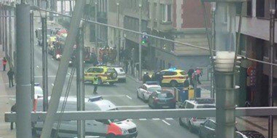 توقيف خمسة اشخاص بعد الانفجار في معهد علم الجريمة في بروكسل