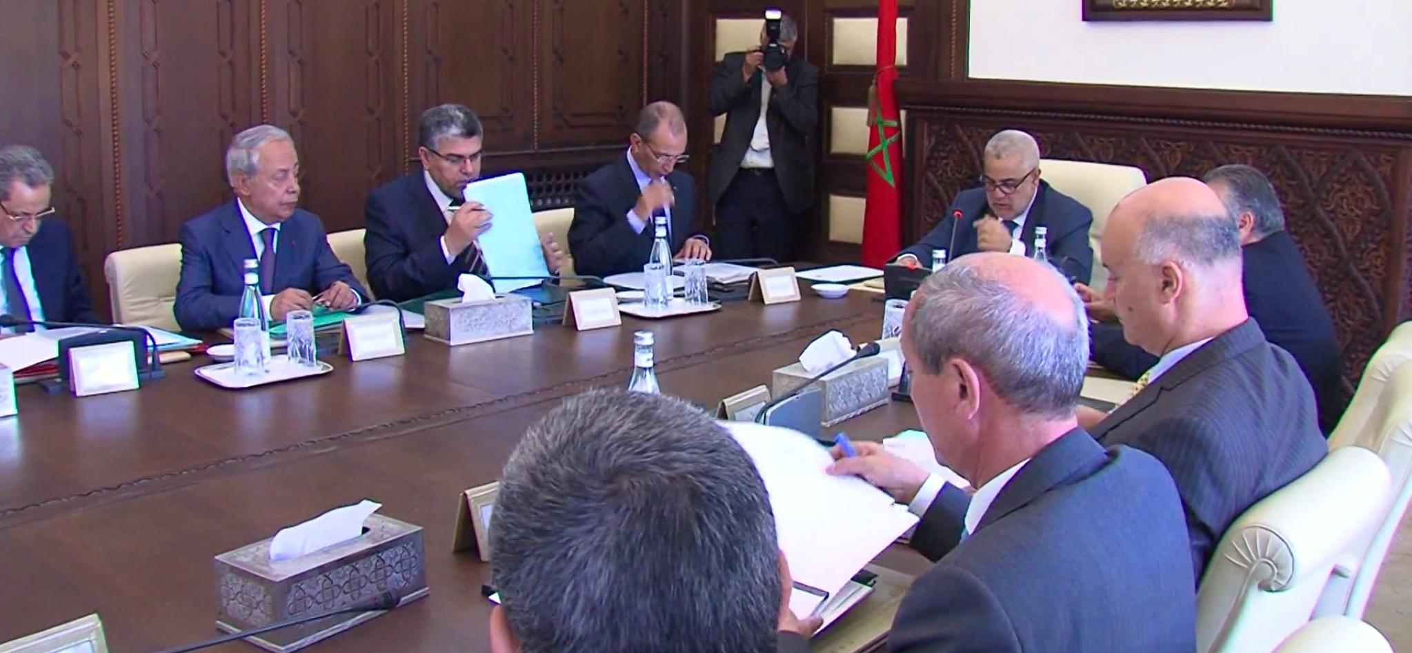 مجلس الحكومة يصادق على 11مشروع مرسوم تتعلق بالجهات والعمالات والانتخابات المقبلة
