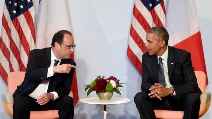 فرنسا تريد وقف المفاوضات حول اتفاقية التبادل الحر بين الاوروبيين والاميركيين