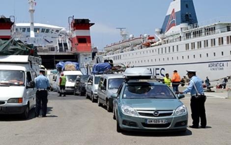 """""""مرحبا 2016"""" .. ارتفاع عدد المسافرين الوافدين على المغرب عبر بوابة ميناء طنجة المتوسط"""