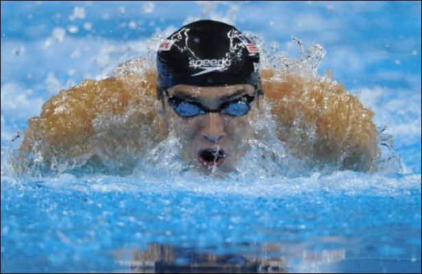 سباحة: فيلبس يحرز ميداليته الـ25 في الالعاب الأولمبية