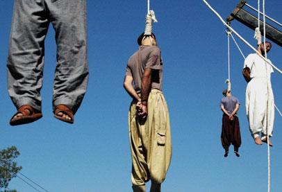 """ايران تنفذ احكاما بالاعدام في عشرين """"ارهابيا"""" في يوم واحد"""