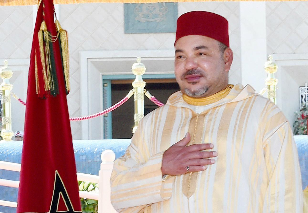 الملك يستقبل أعضاء الوفد الرسمي المتوجه للديار المقدسة لأداء مناسك الحج  برئاسة السكوري