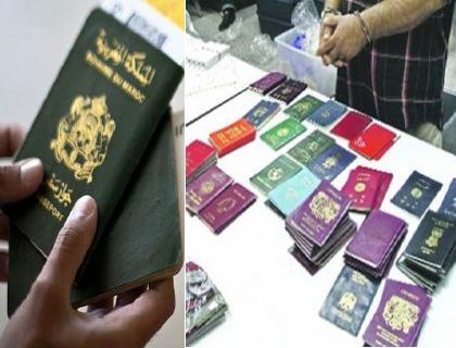جوازات مزورة تطيح بشبكة للتهجير