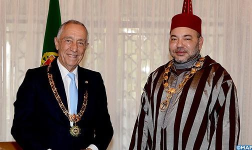 الملك محمد السادس يأمر السلطات من أجل المساهمة بطائرتين  لإخماد الحرائق المهولة بالبرتغال بجزيرة مادير