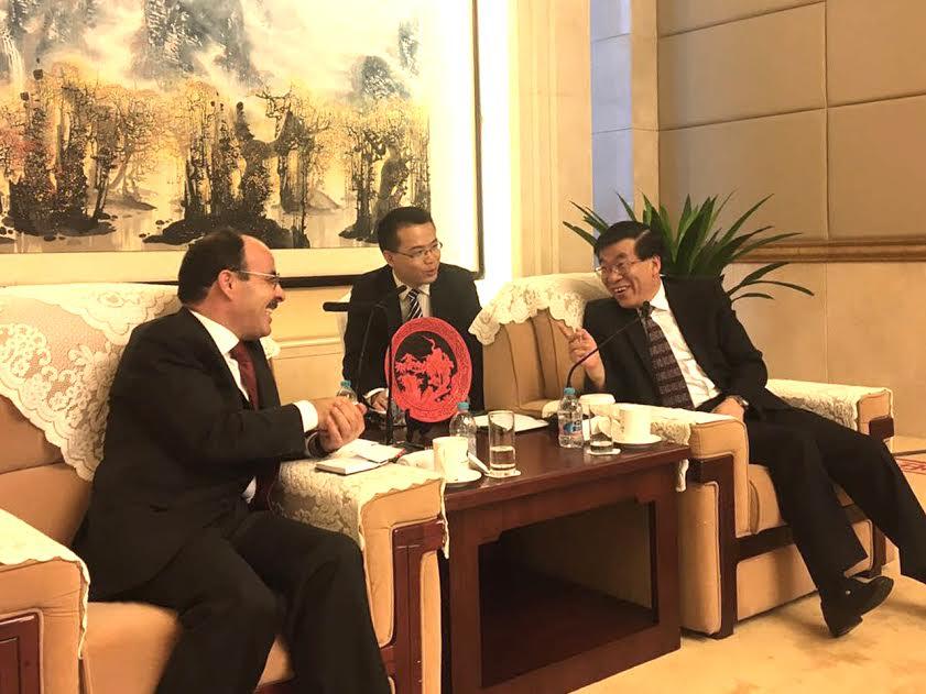 إلياس العماري مرة أخرى بالصين  ويلتقي وزير  بالحزب الشيوعي الصيني