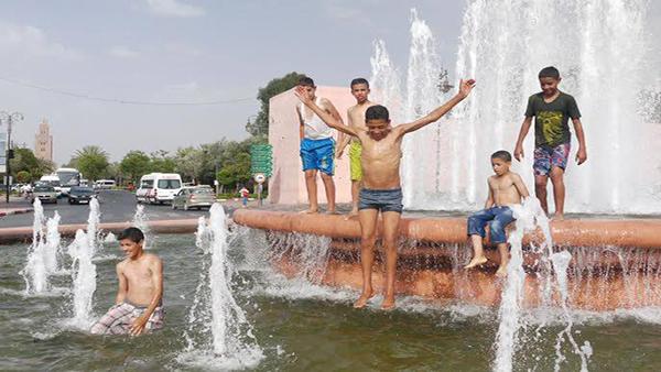 انتبهوا:موجة حر بعدد من المدن المغربي بين يومي السبت والثلاثاء القادمين مع درجات حرارة قصوى ستتراوح ما بين 38 و 45 درجة