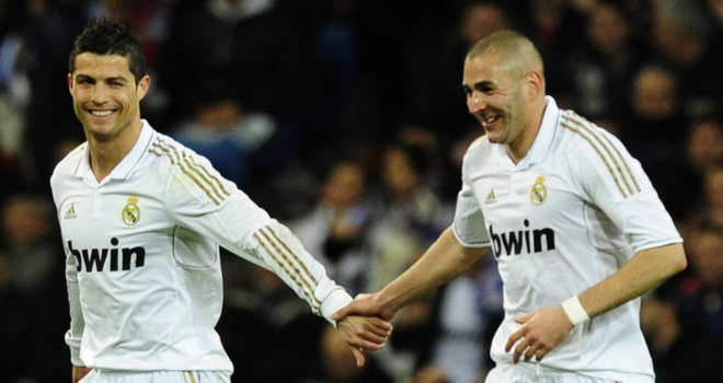 رونالدو وبنزيمة يعودان الى صفوف ريال مدريد بعد التعافي من الإصابة