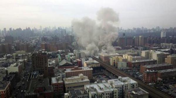 انفجار نيويورك كان في صندوق القمامة