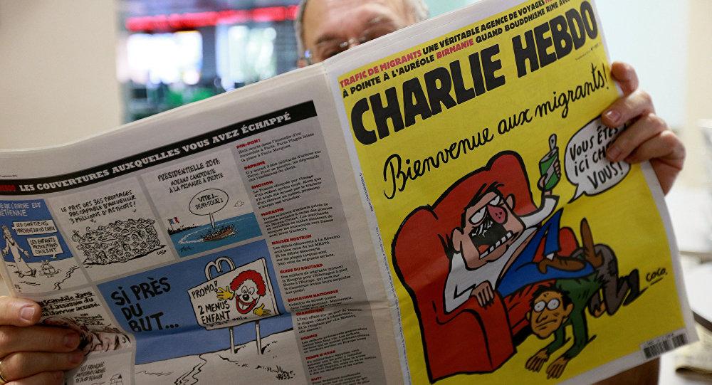 موجة غضب اثر نشر شارلي ايبدو رسما كاريكاتوريا لضحايا زلزال ايطاليا